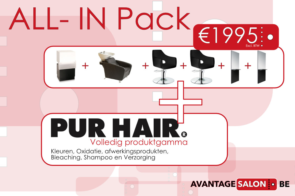 All-in startpakket t.w.v. €1995